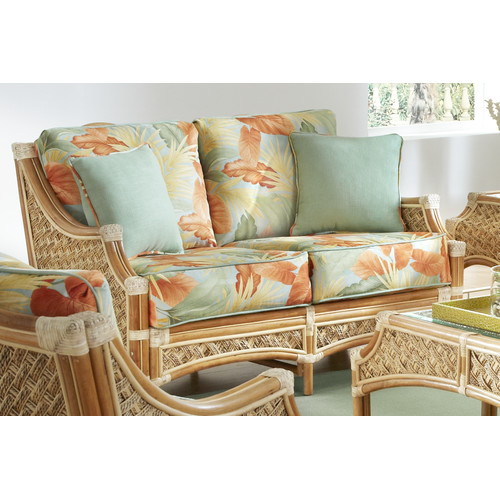 Spice Islands Wicker Mauna Loa'' Loveseat