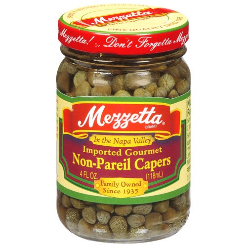 CAPERS, WATER, DISTILLED VINEGAR, SALT
