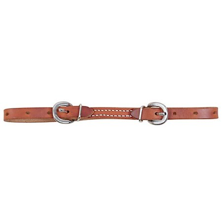 Martin Harness Leather Curb Strap