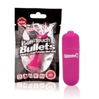 Soft-Touch Mini Bullet Vibrator by Screaming O Pleasure Products