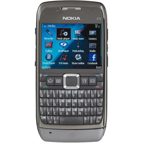 Straight Talk Nokia E71 Prepaid GSM Cell Phone