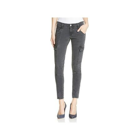 J Brand Womens Houlihan Moto Crop Skinny Pants