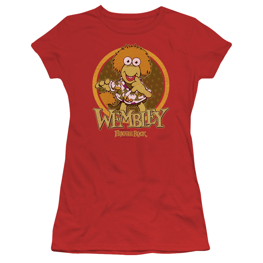 Fraggle Rock Wembley Circle Juniors Short Sleeve Shirt