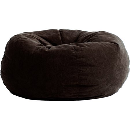 King 5' Fuf Comfort Suede Bean Bag Chair, Multiple Colors - Walmart.com - King 5' Fuf Comfort Suede Bean Bag Chair, Multiple Colors