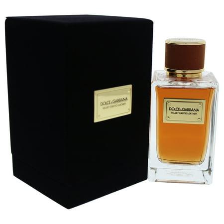 Velvet Eotic Leather by Dolce & Gabbana for Men - 5 oz EDP Spray
