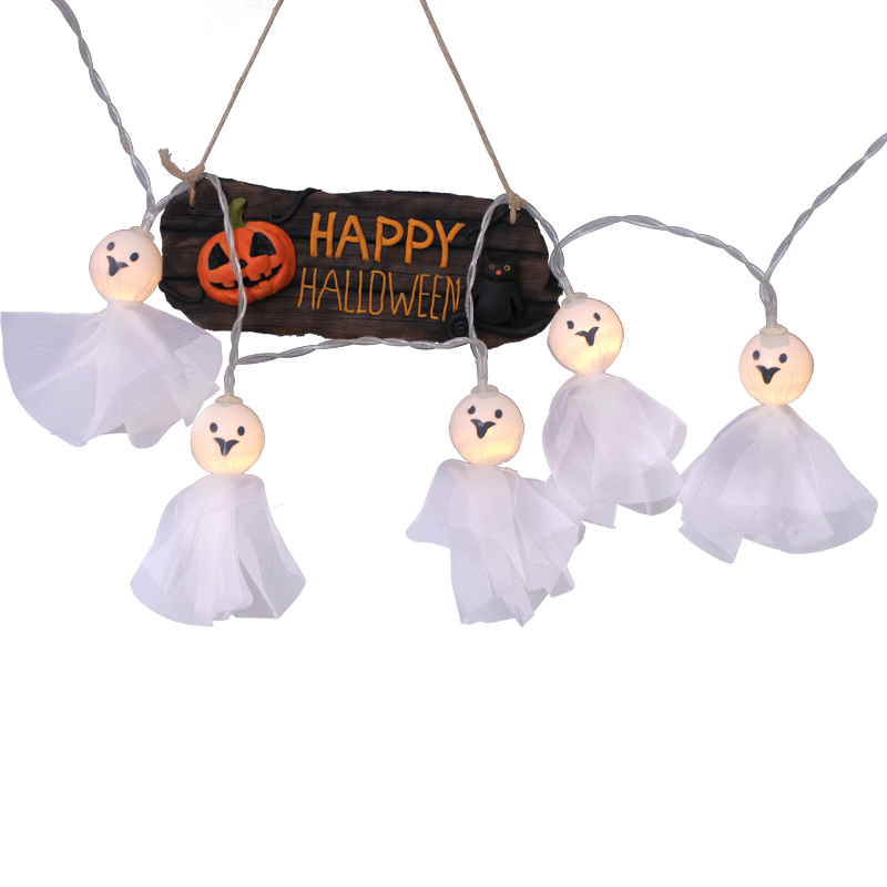 String Lights Halloween Decorations On Clearance 3 9 Ft 10 Leds