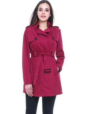 695499b4944bc8 Product Image Women's Gabby Mid Length Trench Coat