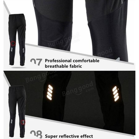 ROCKBROS Unisex MTB Riding Sports Pants Breathable Leisure Pants Cycling Running Trousers Spring And Summer - image 6 of 9