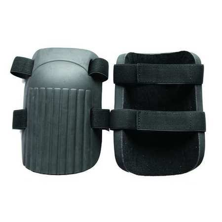 Westward 12F688 One Size Fits All Gray/Black Knee Pads ()