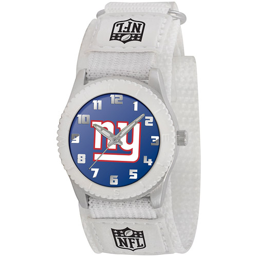 Game Time NFL Men's New York Giants Rookie Series Watch, White