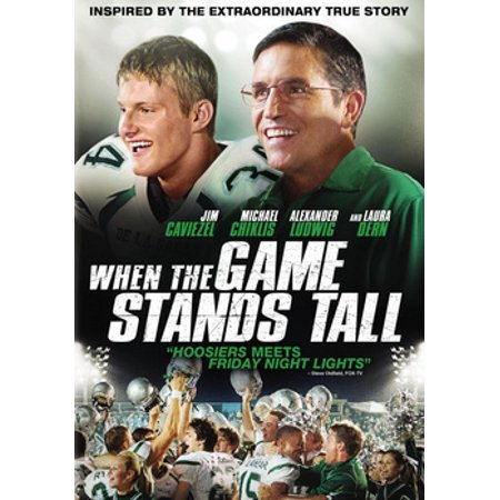 When the Game Stands Tall, DVD,