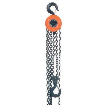 Manual Chain Hoist, 10,000 Lbs. Cap., 10' Lift 10 Standard Lift Manual Chain