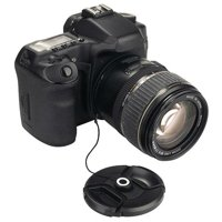Insten Camera Lens Cap Keeper Holder, Black