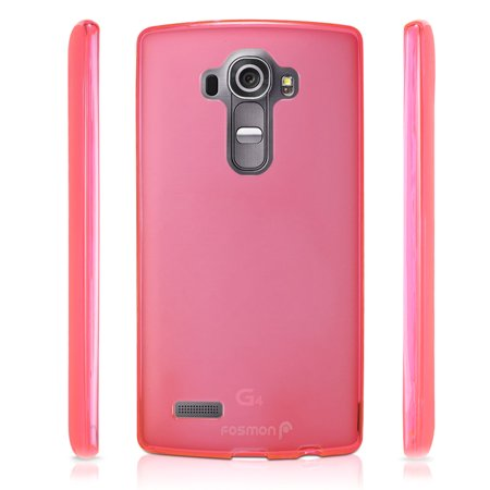 Frosted Leather (LG G4 Case - Fosmon [DURA FROST] Smooth Durable & Flexible SLIM-Fit Cover for LG G4 (Not Leather Back Compatible) (Hot Pink))