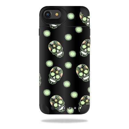 MightySkins Protective Vinyl Skin Decal for Mophie Juice Pack Air iPhone 7 wrap cover sticker skins Glowing