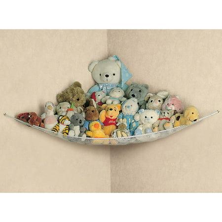 Large Baby Toddler Soft Toy Hammock Mesh Net Storage Nursery Kids Bedroom Tidy Organizer