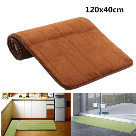 47 X16 Memory Foam Long Doormat Absorbent Non Slip