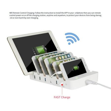 Smart Charging Station Dock & Organizer for Smartphones, tab