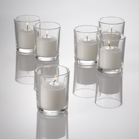 Eastland Glass Votive Candle Holder Set of 72 Decorating Glass Candle Holders