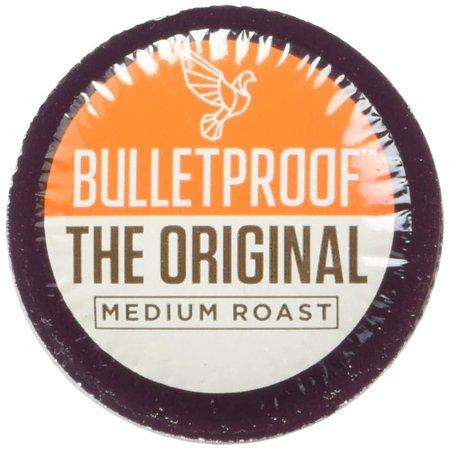 Bulletproof The Original Roast Coffee Pods, Premium Medium Roast Organic Beans, Single-Serve K Cups, Works With Keurig 2.0 (24 Count) 24