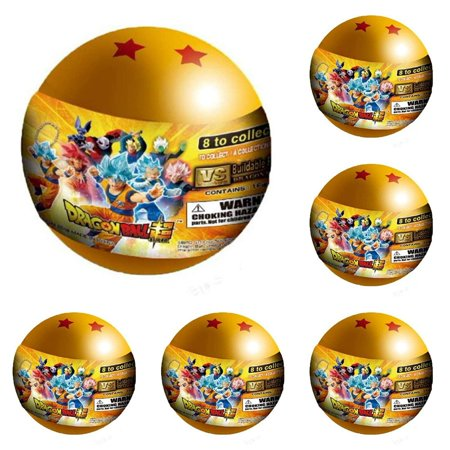 Dragon Ball Z Super Buildable Figure 6 Blind Capsules