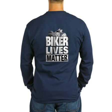 2b25d7f5bf7 CafePress - CafePress - Biker Lives Matter Long Sleeve T-Shirt - Long  Sleeve Dark T-Shirt - Walmart.com