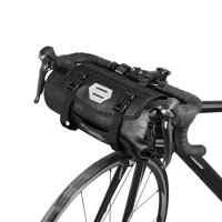 ROSWHEEL Bicycle Bag Waterproof Cycling Mountain Road MTB Bike Front Frame Handlebar Pannier Dry Bag with Roll Top Closure 3L-7L Adjustable