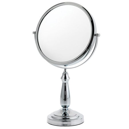 DANIELLE BY UPPER CANADA SOAP Danielle 1x-10x Large Column Stem Vanity Mirror
