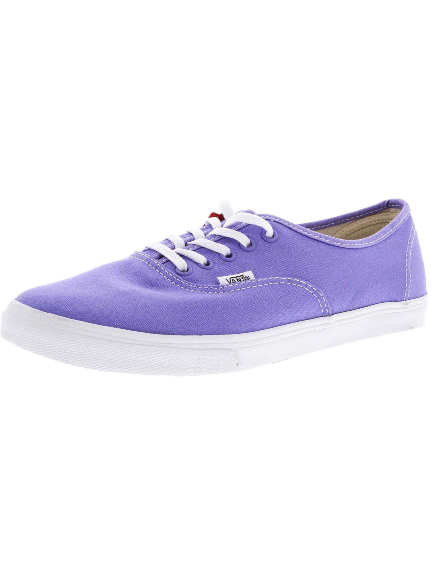 Vans Authentic Lo Pro Marshmallow Ankle-High Cotton Skateboarding Shoe - 9.5M / 8M