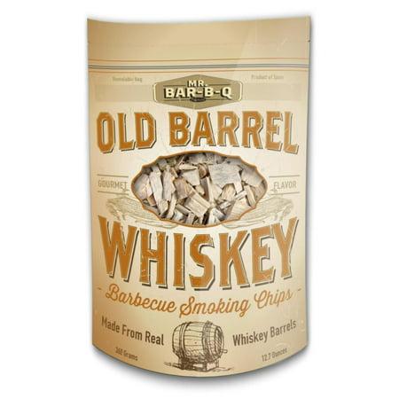 Bbl Barrel - Mr. Bar-B-Q 05042BC Old Barrel Whiskey Barbecue Smoking Chips, Brown, Bring something new to the grill with Whiskey Barbecue Smoking Chips By Mr BarBQ