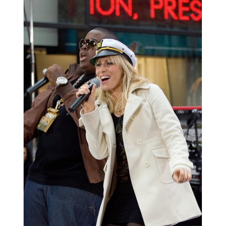 Sean Kingston Natasha Bedingfield On Stage For Nbc Today Show Concert With Natasha Bedingfield Rockefeller Center New York Ny November 21 2007 Photo By David GiesbrechtEverett Collection Celebrity - Halloween City Kingston Ny