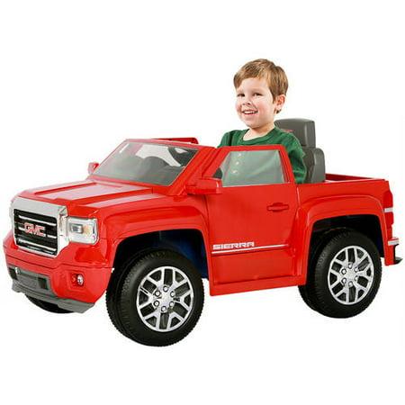 Rollplay GMC Sierra Truck 6-Volt Battery-Powered Ride-On - Walmart.com