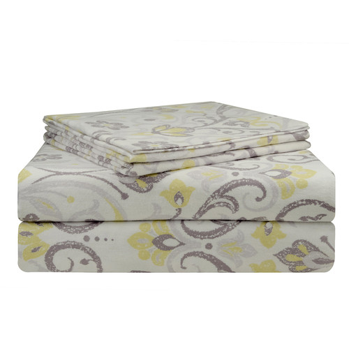 Pointehaven Meadow Flannel Sheet Set