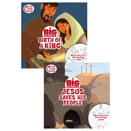 The Birth of a King/Jesus Saves His People Flip-Over