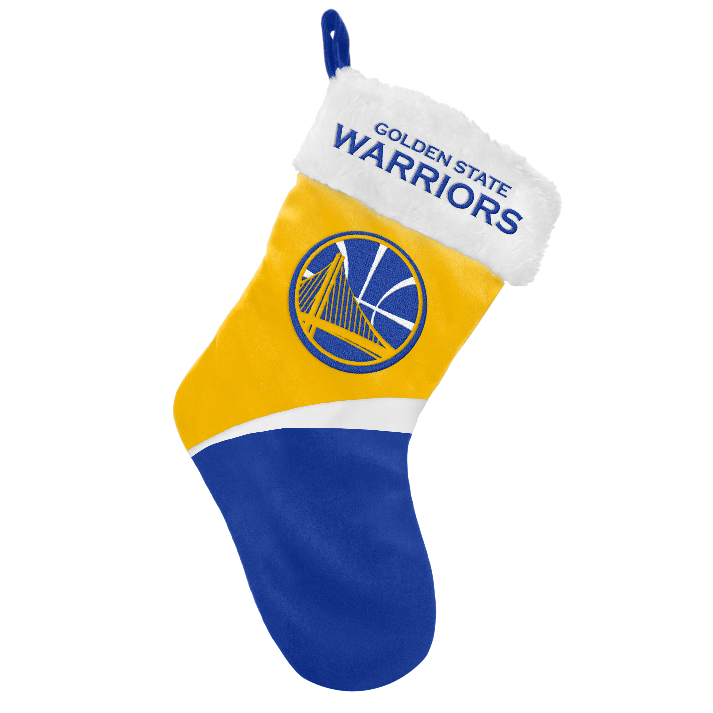 Golden State Warriors ficial NBA Holiday Christmas Stocking by