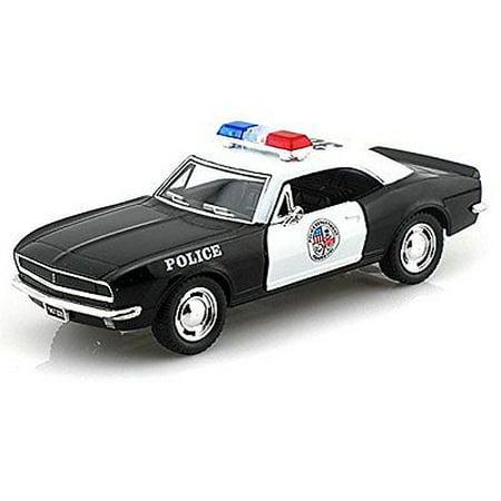"5"" Kinsmart 1967 Chevrolet Camaro Z/28 Police Car Diecast Model 1:37 Chevy"