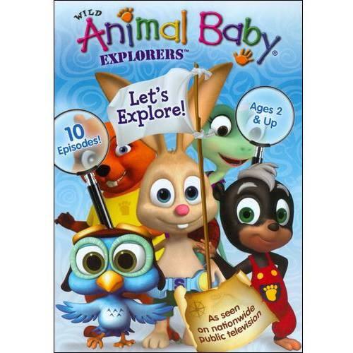Wild Animal Baby Explorers: Let's Explore! by Mill Creek