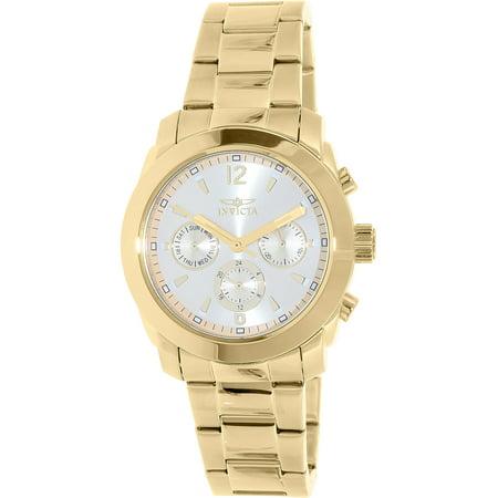 (Invicta Women's 17901 Angel Quartz Multifunction Gold Dial Watch)