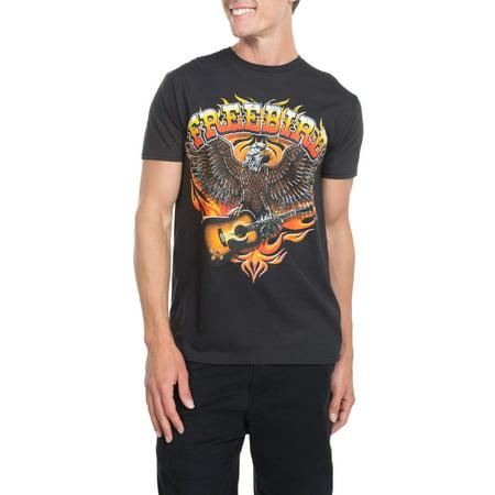 eb7e1ea8 Lynrd Skynyrd - Lynyrd Skynyrd Men's Freebird Short Sleeve Graphic T-Shirt,  up to Size 3XL - Walmart.com