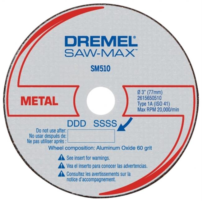 Dremel SM510C 3 inch Metal Cut-Off Wheel