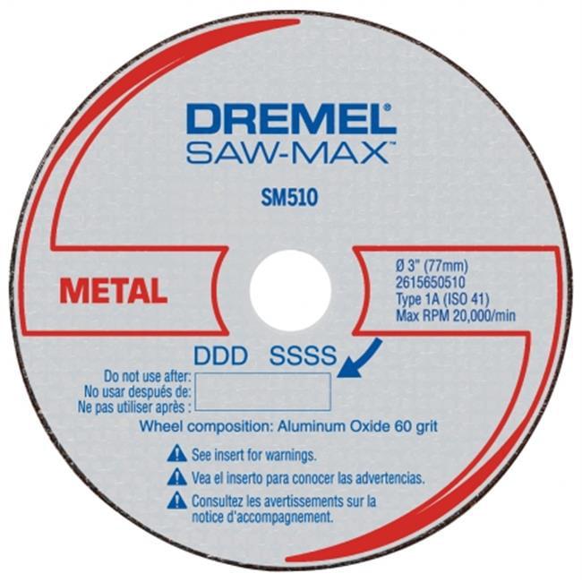 Dremel SM510C 3 inch Metal Cut-Off Wheel