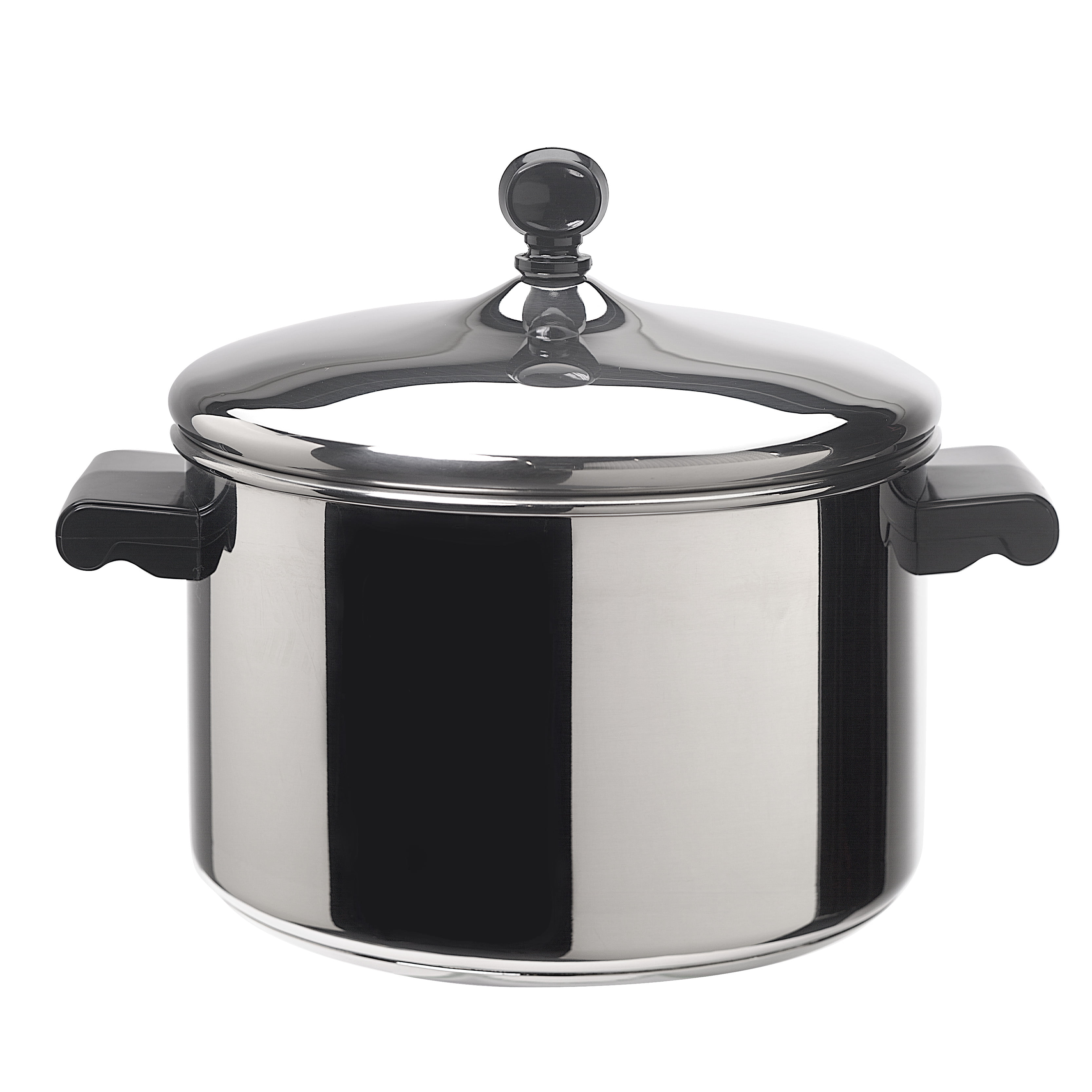 Farberware 1810 Stainless Steel 4 Quart Stock Pot Classic Stainless