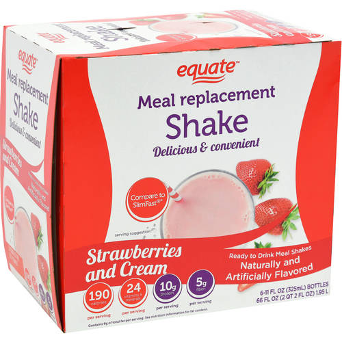Equate Ultra Weight Loss Shake, Strawberry, 66 fl oz
