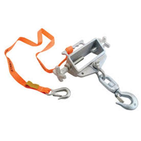 Vestil S-FORK-4-6-SL Hoisting Hook Single Fork Swivel Latch