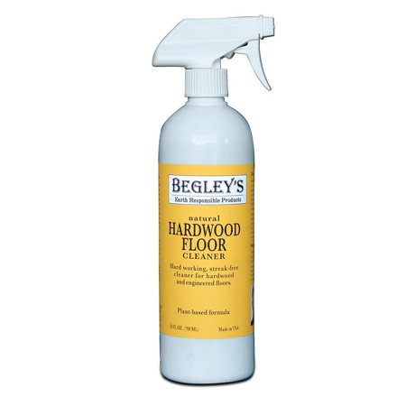 Begley's Best Earth Responsible Natural Plant-Based Hardwood Floor Cleaner, Fresh Citrus Scent, 24 oz