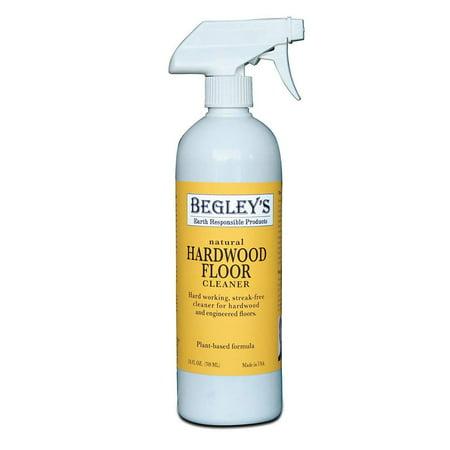 Begley's Best Earth Responsible Natural Plant-Based Hardwood Floor Cleaner, Fresh Citrus Scent, 24 oz (Best Cleaner For Bamboo Hardwood Floors)
