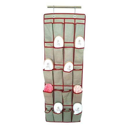 Elegant Home Fashions YN95077 Over the Door Shoe Organizer - Red - image 1 de 1