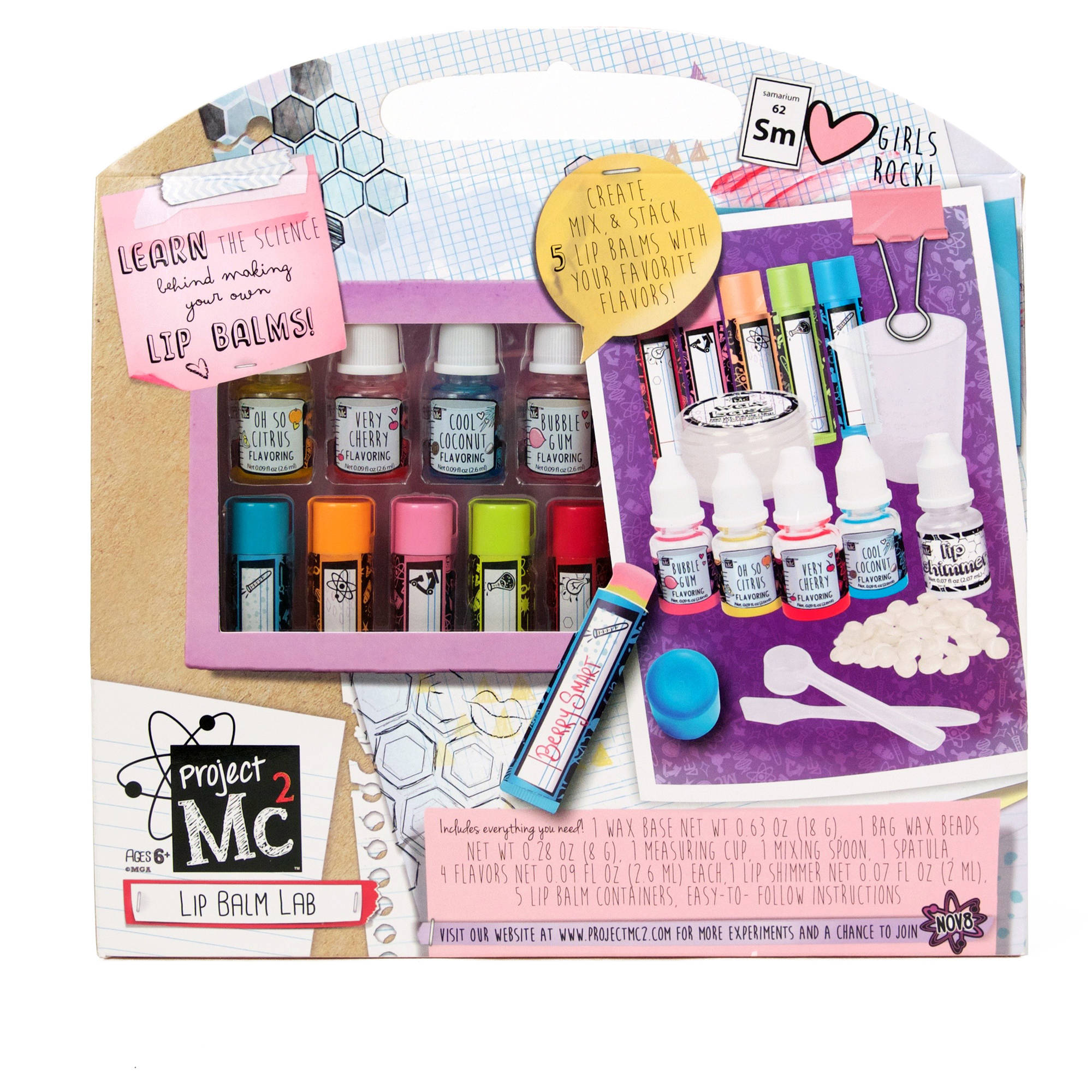MC2 Lip Balm Lab Activity Kit
