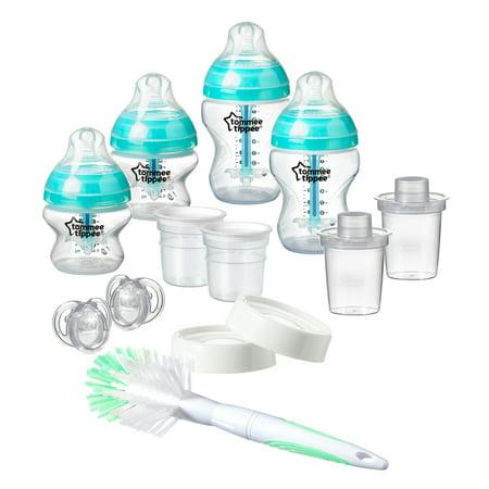 Tommee Tippee Advanced Anti-Colic Newborn Baby Bottle Feeding Starter Set