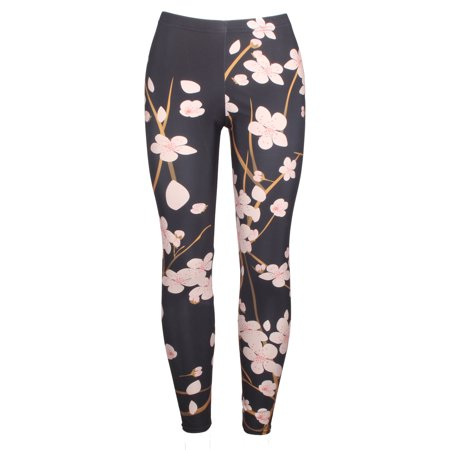 DODOING Leggings for Women Plus Size Printed Womens High Waisted Tights Workout Sport 3D, Black,S-4XL